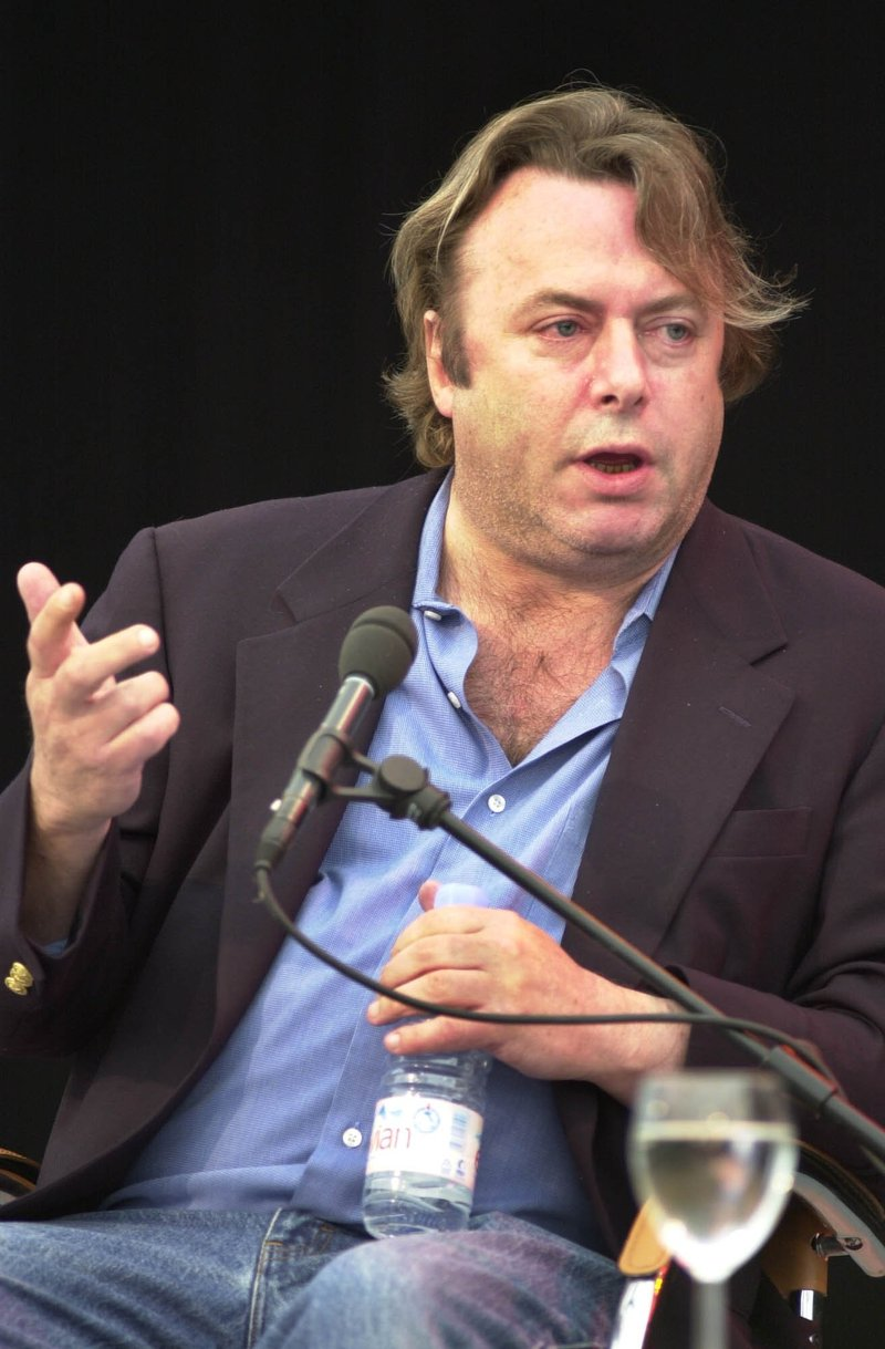 vol brooklyn christopher hitchens and salman rushdie get cozy  by todd krieger