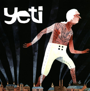 Carson Ellis's artwork for Yeti 12